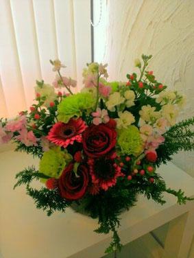 H様綺麗なお花をありがとうございました