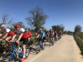 Gemeinsame Ausfahrt auf Mallorca