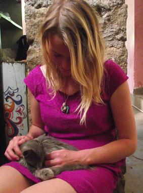 Feathery Travels kitten, Bolivia