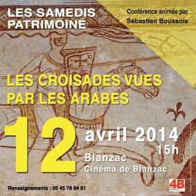 Conférence : Les Croisades vues par les Arabes
