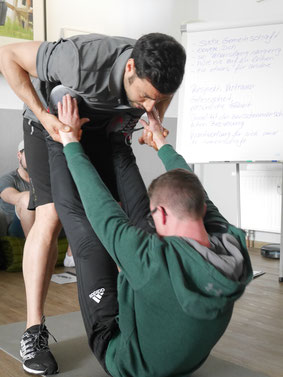 Hands-on im Personal Training