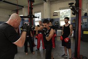 Pratzentraining, Kickboxen in Wiener Neustadt, KICKBOXING4L&M