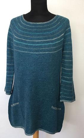handgefärbte Wolle von Skudderia
