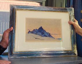 an wundeschönes Bild vom steierischen Maler Rotky