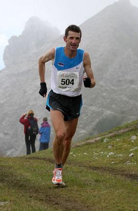 der mehrfache Berglauf Weltmeister Helmut Schmuck - hier bei einer Archivaufnahme bei einer früheren EM