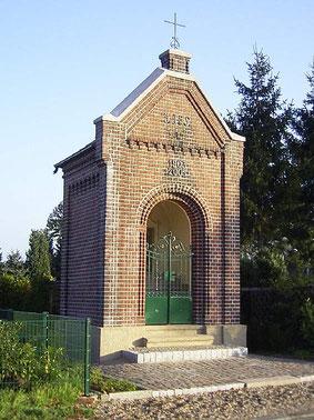 restaurierte Kapelle an der Lüdinghauser Str. aus dem Jahre 1903 - Foto: HPD