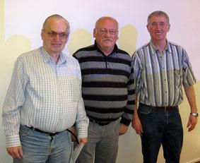 Peter Schneider, Dieter Hahne, Carl-Josef Gleitze