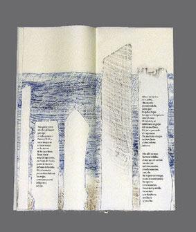 """Ausschnitt des Textes «El Mar» in: """"Una casa en la arena"""" von Pablo Neruda, editorial lumen 1966"""