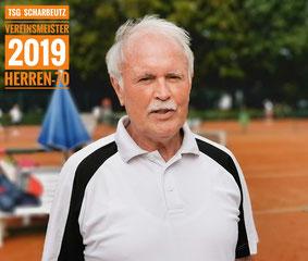 Vereinsmeister 2019 Herren-70 Wolfgang Klug