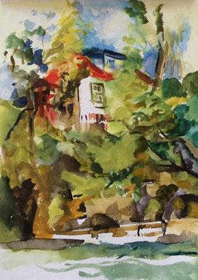 Peinture de Suzanne Poirier