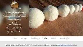 Bewerten Sie www.paukenschlaegel.com bei google+