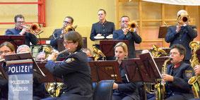 PolizeimusikSalzburg beim Konzert in Tamsweg / Austria 11.11.2014