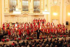 Postmusik Salzburg beim Herbstkonzert im Mozarteum