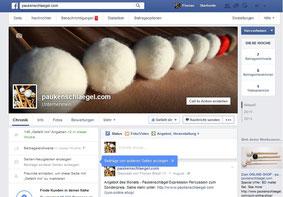 Imagebild von www.paukenschlaegel.com als Avatar bei Facebook
