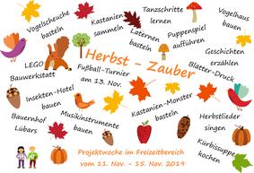 Projektwoche Herbst