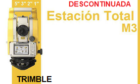 trimble m3 descontinuada