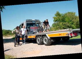 Pick-Up Service bei Dreirad Unfall