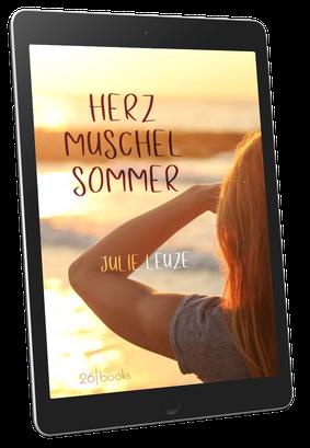 """Cover """"Herzmuschelsommer"""" von Julie Leuze"""