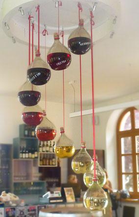 Wijnsoorten van wit naar rood