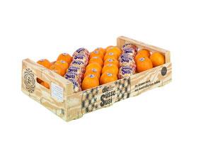 die Süsse Susi Kiste Clementinen gelegt