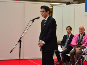 祝辞 兵庫県産業労働部 しごと支援課課長 大谷俊洋様