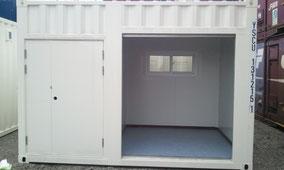 新造コンテナ12ft 収納・倉庫・物置・バイクガレージに!激安価格で販売中!