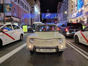 Seat 850 especial tour madrid