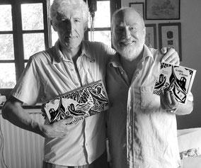 Raymond Verdaguer insieme a Luciano Ragozzino