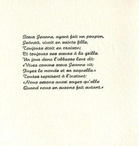 pagina di testo composto in caratteri Armonia