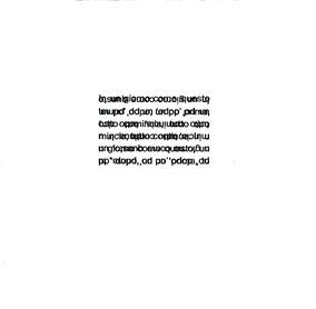 pagina di testo con doppia stampa tipografica