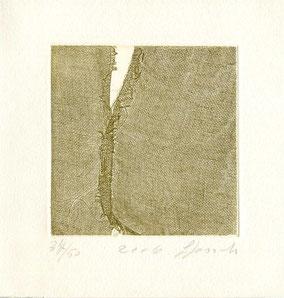 ceramolle originale dell'autrice numerata e firmata - lastra 100x100 mm