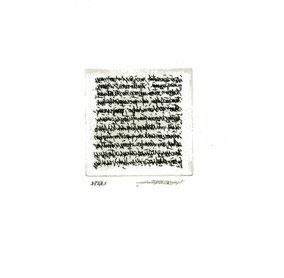 acquaforte originale dell'autore numerata e firmata