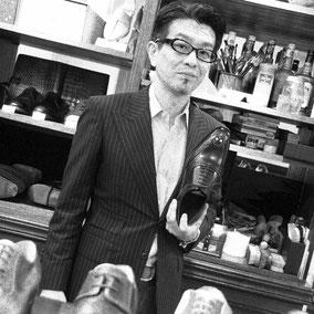清水朝義 革靴のプロ。BROSENT代表。