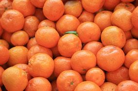 Orange Mandarine und Lavendel sind Ätherische Öle