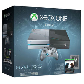 Microsoft Xbox One + Halo 5 - Guardians - Limited Edition