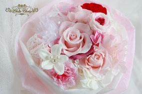 プロポーズ 花束  プリザーブドフラワー  フラワーギフト ディズニー アンバサダー
