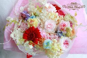 プロポーズ 花束  プリザーブドフラワー  フラワーギフト ディズニーランド  ヴァレンタインナイト