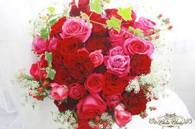 プロポーズ 花束 ディズニー ハート 薔薇