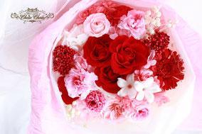 ディズニープロポーズ 花束 薔薇 プリザーブドフラワー