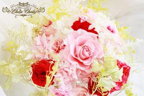 ディズニープロポーズの花束 プリザーブドフラワー 花屋 舞浜 浦安