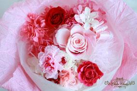 ディズニー プロポーズ 花束 薔薇 プリザーブドフラワー