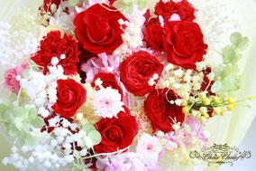 プロポーズ 花束  プリザーブドフラワー  フラワーギフト ディズニーシー ミラコスタ