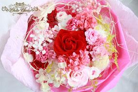 プロポーズ 花束 プリザーブドフラワー ディズニー  バラ