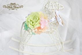 馬 ひだまり牧場 周年記念 お祝い 花 プリザーブドフラワー
