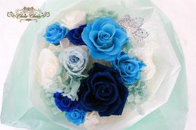 プロポーズ 花束  プリザーブドフラワー  フラワーギフト ディズニーランド ホテル シンデレラ