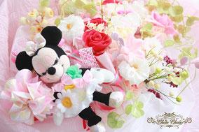 プロポーズ 花束  プリザーブドフラワー  フラワーギフト ディズニーランド ミニーちゃん