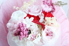 ディズニープロポーズ ミラコスタ プリザーブドフラワー 花束 ウェディング ミッキー ミニー オーダーフラワー  シュシュ chouchou