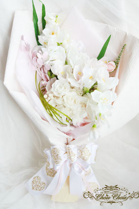 ディズニー プロポーズ 花束 プリザーブドフラワー 花屋 舞浜