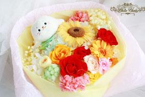 プロポーズ 花束 プリザーブドフラワー シロタン 花屋