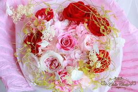 プロポーズ 湯河原 旅館 プリザーブドフラワー 花束 エンゲージリング  フラワーリング プロポーズリング オーダーフラワー シュシュ 配送